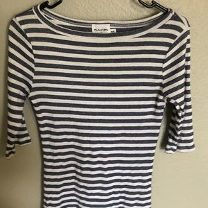Anthropologie Striped Blouse